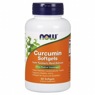 Curcumin Softgels 60 Caps Now