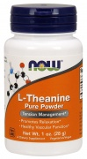 Theanine Pure Powder 28g Now