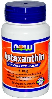 Astaxanthin 4 mg 60 caps Now