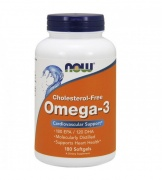 Omega 3 Now 180 Caps Cholesterol Free