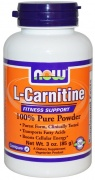 L-Carnitine Powder 85g Now
