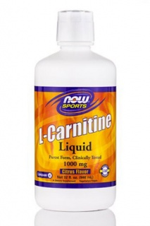 L-Carnitine Liquid 1000 mg Now 946 ml