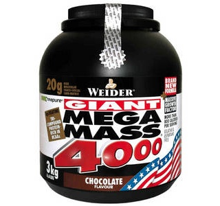 Mega mass 4000 News 3000гр шок Weider