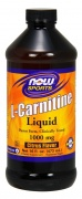 L-Carnitine Liquid 1000 mg Now 473 ml