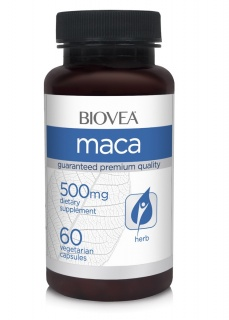 Maca 500mg 60 caps Biovea