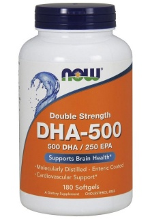 DHA 500 Now 180 Caps