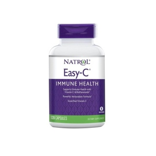 Easy C 500mg immune health 120 caps Natrol