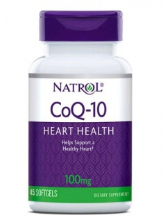 CoQ-10 100mg Natrol 60 caps
