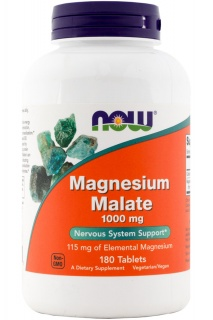 Magnesium Malate 1000mg 180Tabs Now