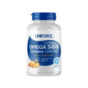 Omega 3-6-9 Complex 1200mg 90 Caps Uniforce