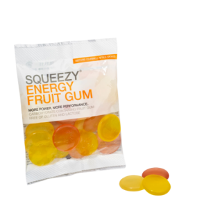 Energy Fruit Gum 50g Squeezy