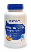 Omega 3-6-9 Complex 1200mg 120 Caps Uniforce