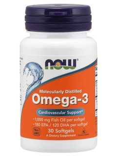 Omega 3 30 caps Now