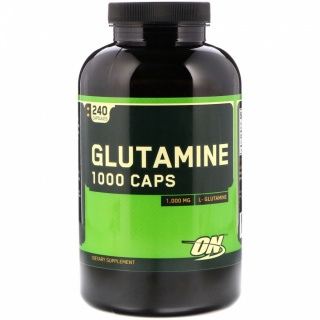 Glutamine Caps 1000 240 Caps Optimum Nutrition