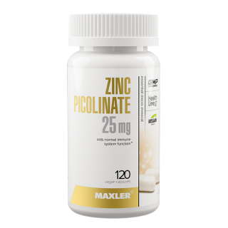 Zinc Picolinate 25 mg 120 caps Maxler
