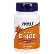 E-400 Mixed Tocopherols 50 Caps Now