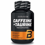 Caffeine 80mg +Taurine 600 mg 60caps Scitec Nutrition