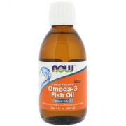 Omega -3 Fish Oil 200ml Now