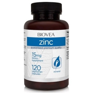 Zinc 15mg 120 Caps Biovea