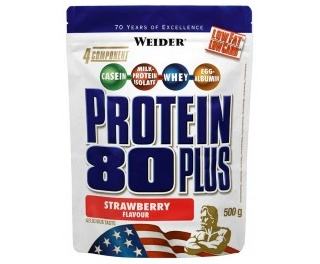 Protein 80+ 500 г пакет  (Weider)