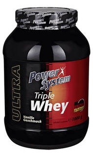 Triple Whey protein 1000гр  Power System