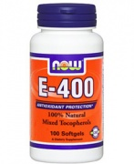 E-400 Mixed Tocopherols Now 100softgels